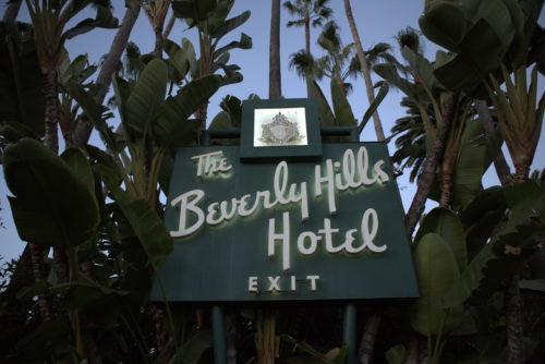 das erste Hotel am Platze in Beverly Hills. Neben dem THE EDEN ACHIEVEMENT AWARD 2017 wurden hier auch die GOLDEN GLOBES 2018 und Oscar-Events gefeiert