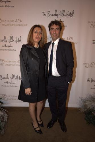 Maryam Morrision mit Star-Dirigent Carlo Ponti jr.