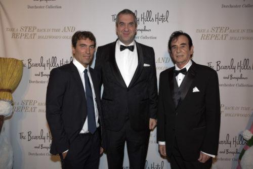 Star-Dirigent Carlo Ponti jr., Marcus Giers, Hollywood-Produzent Toni Tarantino