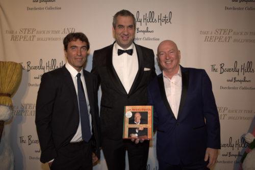 Star-Dirigent Carlo Ponti jr., Marcus Giers, US-Speaker & Founder White House Restaurant Bruno Serato