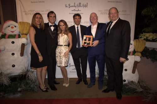 Founder THE EDEN MAGAZINE Maryam Morrision, Hollywood-Produzent Toni Tarantino, Maria-Elena Infantino, Star-Dirigent Carlo Ponti jr., US-Speaker & Founder White House Restaurant Bruno Serato, Matthew Morrision