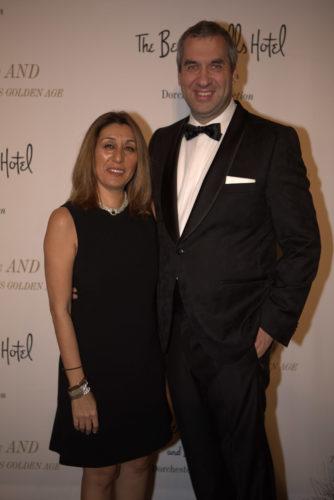 Initiatoren und Gastgeber des Abends Maryam Morrision und Marcus Giers