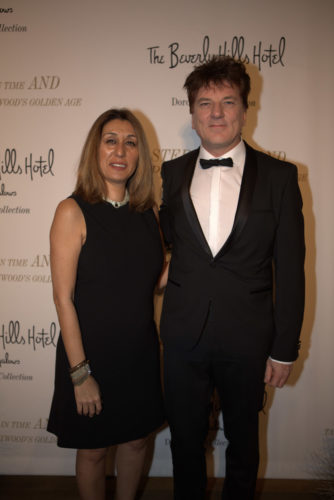 Founder of THE EDEN MAGAZINE Maryam Morrision mit dt. Redner Christoph Ulrich Mayer