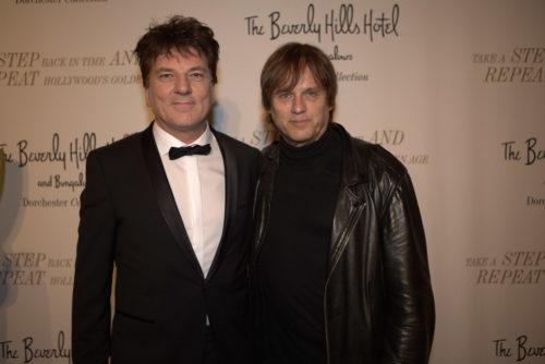 2 Ausnahme-Persönlichkeiten Christoph Ulrich Mayer mit Rockstar Chris Pitman (Guns N'Roses)