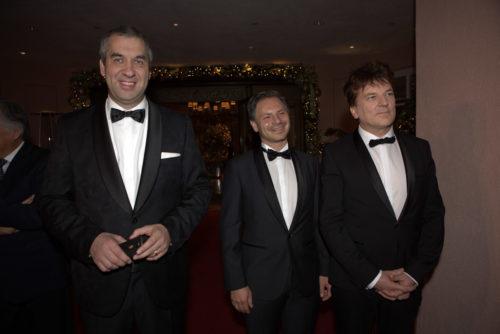 dt. Redner Marcus Giers, Marcus Rübbe und Christoph Ulrich Mayer