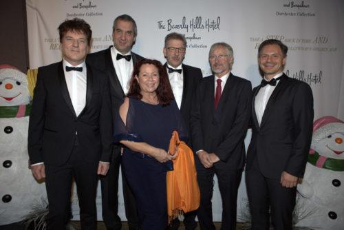 dt. Redner mit dem dt. Generalkonsul Hans Jörg Neumann