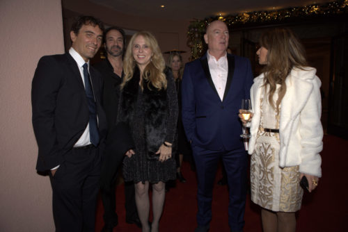 erste Hollywood-Liga Carlo Ponti jr,. Stephen Rivkin, Dina Morrone, Bruno Serato, Maria-Elena Infantino