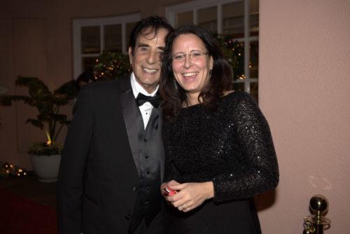 2 gute Freunde Hollywood-Filmproduzent Toni Tarantino und Claudia Giers